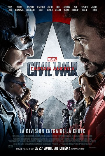 Captain America: Civil War FRENCH DVDRIP 2016