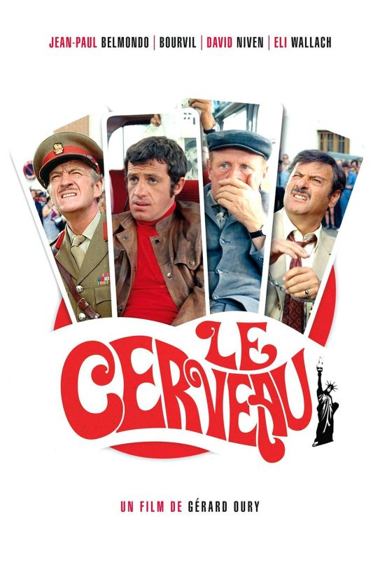 Le Cerveau FRENCH DVDRIP 1969