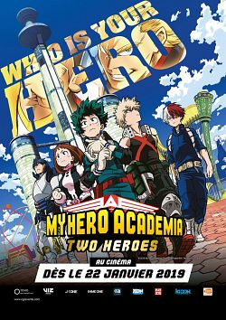 My Hero Academia : Two Heroes FRENCH DVDRIP 2019